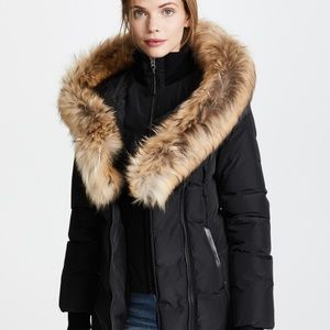NWOT Mackage ADALI Fur Coat